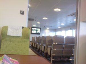 ruang ferry kelas ekonomi